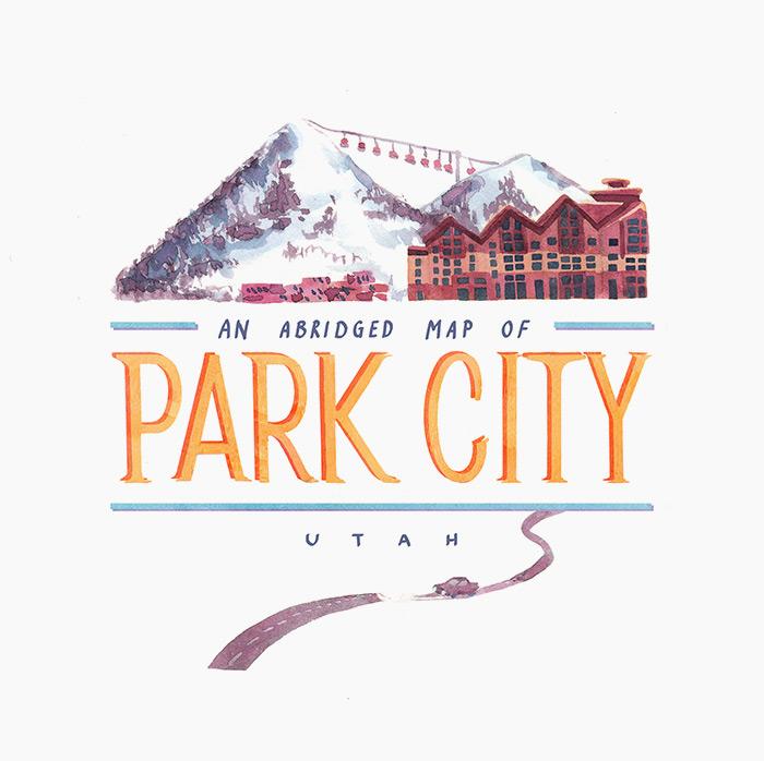 Ellenmakes-Park-City-Utah-Map-title