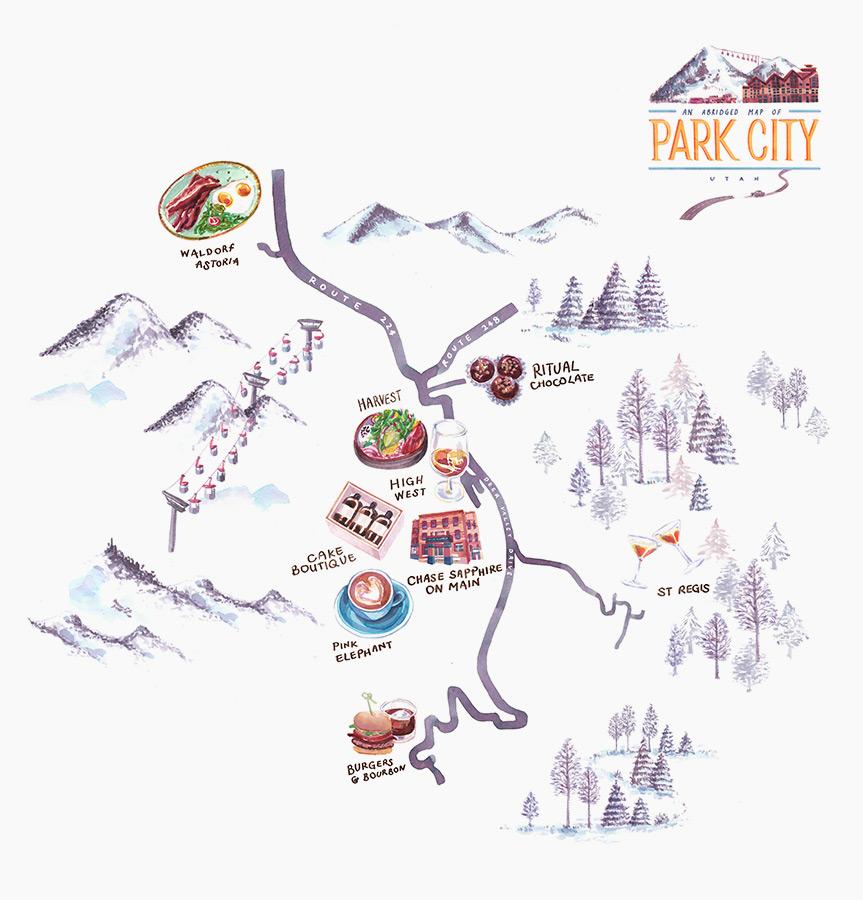 Ellenmakes-Park-City-Utah-Map